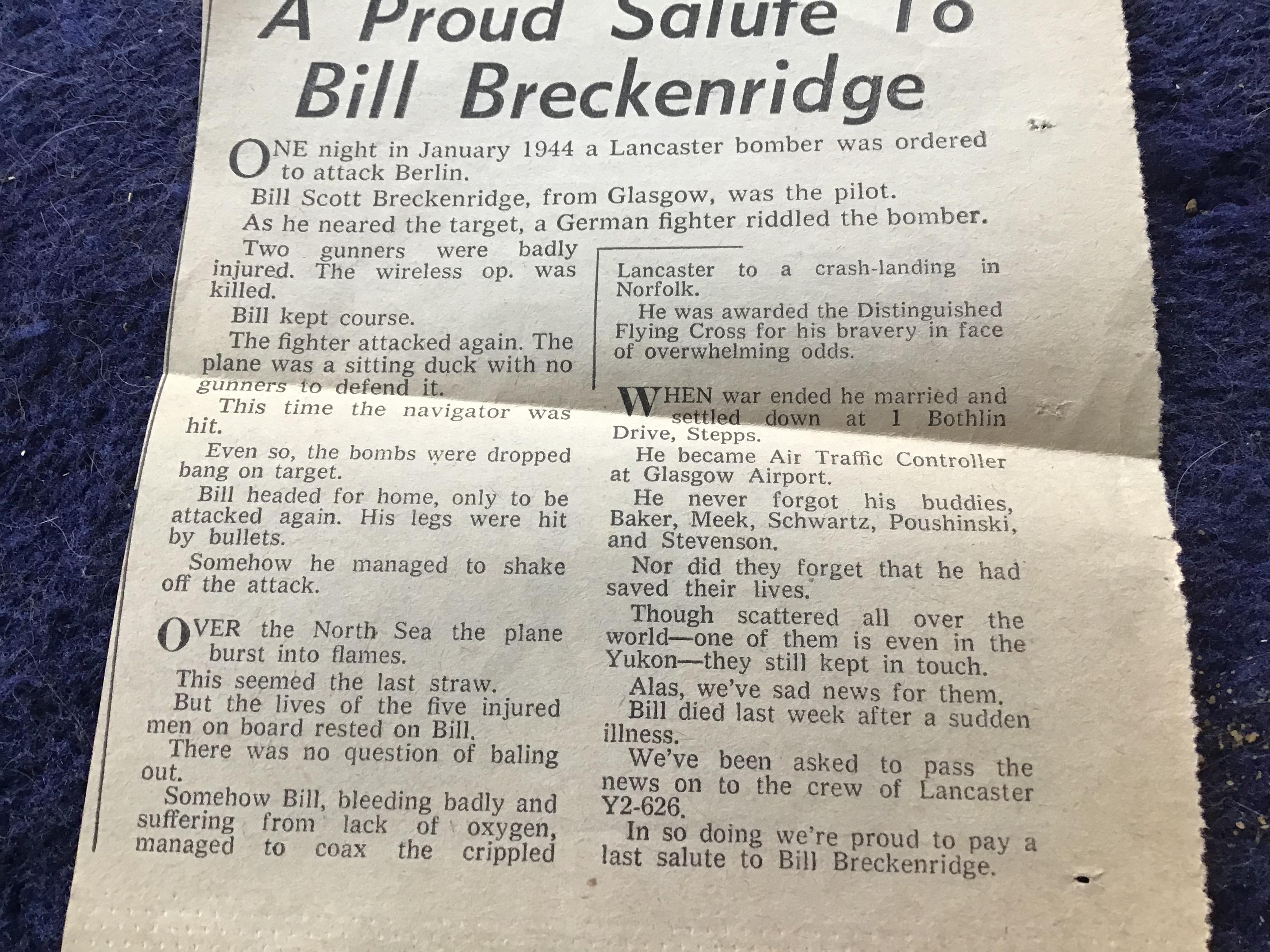 BILL BRECKENRIDGE